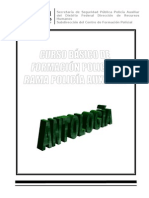 Curso Basico de Formacion Policial Segunda Parte Instruccion Policial Antologia