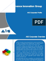 AIG Corp Profile - Six Sigma v 2.5