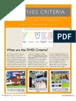 FIVES Criteria