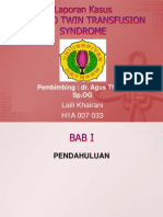 Twin to Twin Transfusion Syndrome-LAPSUS