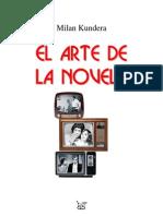 Mikabn Kundera, El Arte de La Novela