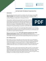 Transportation Draft - No MM