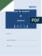 Listas de control de acceso - ACL-
