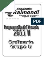 Ordinario Grupo b Para Imprimir Corr