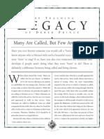 Derek Prince- The legacy of Teaching!