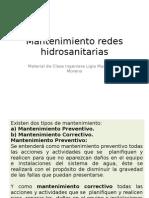 Mantenimiento Redes Hid Rosa Nit Arias