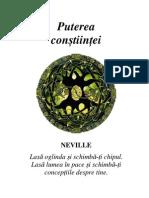 Neville Goddard - Puterea Constiintei