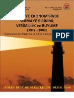 TurkiyeEkonomisindeVerimlilikvs SermayaBirikimi
