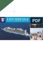 Royal Caribbean WOW Sale Feb 25-27, 2013
