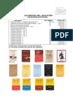 Cotizacion Cuadernos de Musica - Extranjero