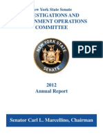 2012 Annual Investigations Committee Report