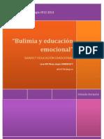 Trabajo de Educacion Emocional y Bulimia