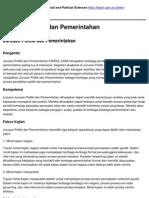 Faculty of Social and Political Sciences - Jurusan Politik Dan Pemerintahan - 2011-04-07