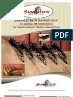 Saddletech Gauge FDXX Brochure 2012