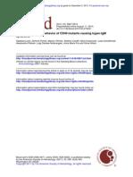 8 Different Molecular Behavior of CD40 Mutants Causing Hyper-IgM