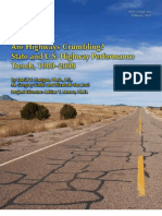 Are Highways Crumbling?  State and U.S. Highway Performance  Trends, 1989–2008