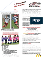 Wide Bay Revolution FC EPlayers Program 2013 Sigon Flyer %284%29 NEW