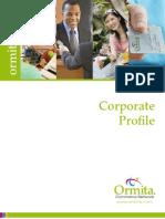 Ormita Corporate Profile