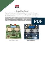 Simple H User Manual