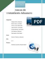 Grupo 3 Zonas Francas de Tratamiento Aduanero