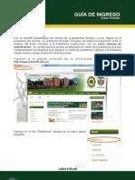 Ingreso Aulas Virtuales UdeC