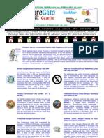 Weekend Edition - February 18, to February 22, 2013 - ForeclosureGate Gazette