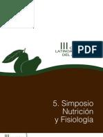 5. Simposio Nutrición y Fisiología