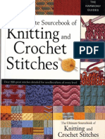The Ultimate Sourcebook of Knitting and Crochet Stitches