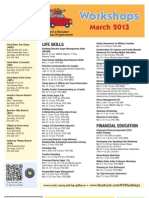 FFSC Workshops March 2013