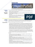 Foreclosure Relief for a Stronger Arizona