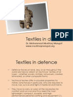 Textile in Defense