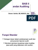 Standar Auditing