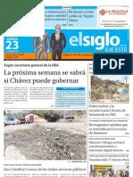 Edición La Victoria Sábado 23-02-2013