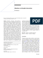 Effects of Nitrogen Fertilization on Tritrophic Interactions