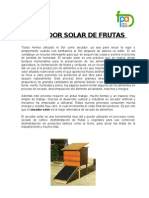 9cc Instructivo de Secador Solar