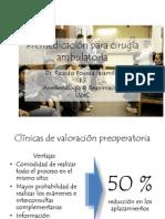 Premedicación para cirugía ambulatoria.pptx