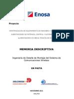 Memoria Descriptiva 10Nov11-Paita