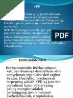 KPD Dan Koreoamnionitis