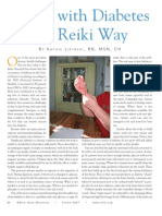 Living With Diabetes the Reiki Way