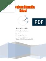 Laporan Percobaan Dinamika Rotasi, Kel VI (Gammabunta)