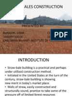 Strawbales Construction