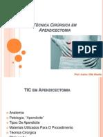 Técnica Cirúrgica em Apendicectomia.pptx