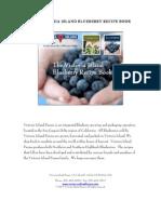 Vi Blueberry Recipe Book