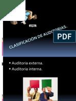 Clasificación de auditorias