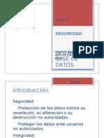 DBDD - Clase 6 - Seguridad BDD
