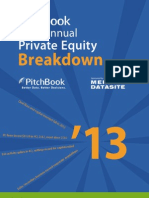PitchBook PE Breakdown 2013