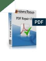 Advanced PDF Repair Software
