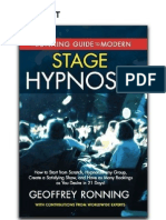 Modern Stage Hypnosis Guide