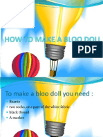 How to Make a Bloo Doll