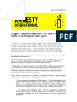 State of Human Rights Under PNoy 2011